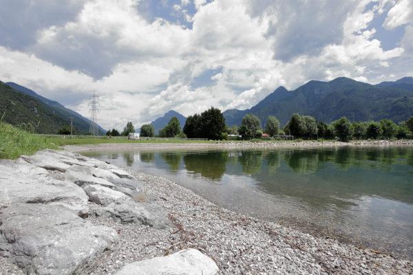 riqualificazione argini lago